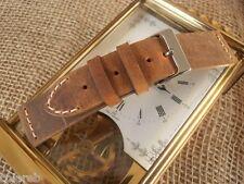Cinturino pelle vintage small ColaReb SHORT marrone 20mm watch band strap