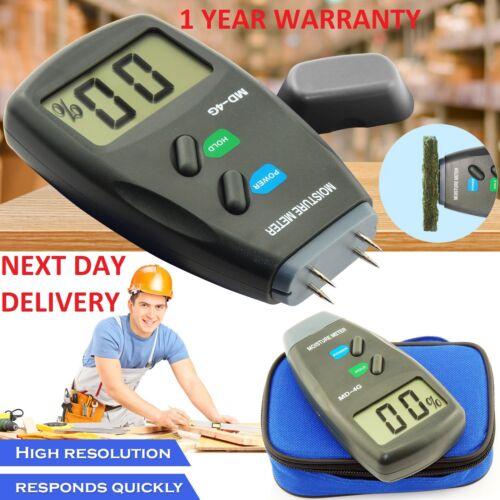 4 Pin Mini  3In1 LCD Digital Moisture Meter Damp Detector Tester Caravan Camper