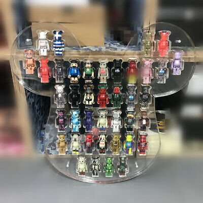Wooden Display Box For 40pcs 100/% Bearbrick Storage /& Display 55x55CM SHP