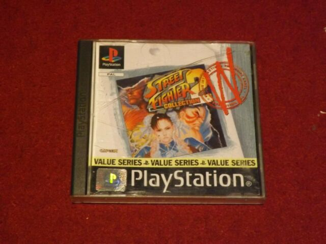Street Fighter Collection 2 (PS1)