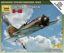 Zvezda 1144 Soviet I16 Fighter Snap 6254