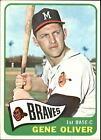 1965 Topps #106 Gene Oliver Braves EX