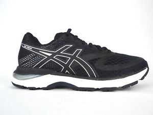 Details about Womens Asics Gel Pulse 10 1012A010 Black Silver Lace Up Running Shoes Trainers