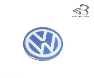 Original-Volkswagen-Emblema-Escudo-para-Llave-Plegable-VW-Logotipo-3B0837891-09Z