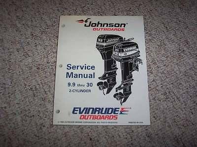 1995 Johnson Evinrude 9 9 10 15 20 25 28 30 35 HP Shop