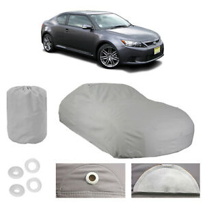 Chevy Malibu 4 Layer Car Cover Fitted In Out door Water Proof Rain Snow Sun Dust