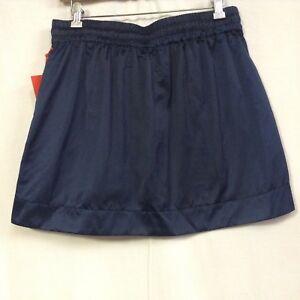 3fd8c1459 Hunter For Target Women's Sport Satin Skirt Navy size M | eBay