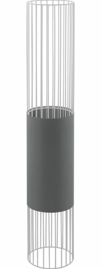 EGLO Stehlampe  NORUMBEGA  grau-weiß 1-flammig 117 cm  20037657