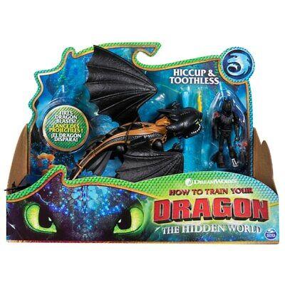 Lightfury /& hoquet Action Figures Toy Comment De Train Votre Dragon 3 monde caché