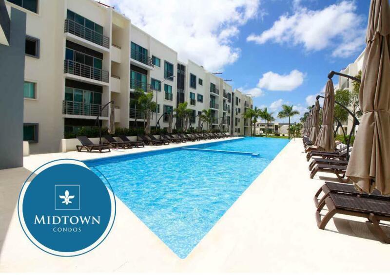 Departamentos en Venta en Cancún, MIDTOWN Long  Island 3 Recámaras. Huayacán, Quintana Roo