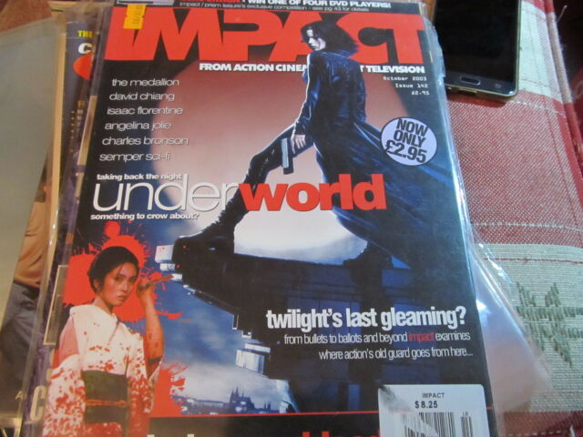 Impact Magazine October 2003 Movie TV