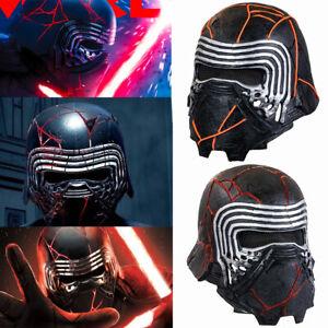 Kylo Ren Mask Cosplay Costume Prop Helmet The Rise Of Skywalker New Ebay