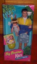 Mattel Big Brother Ken & Baby Brother Tommy - Barbie Doll
