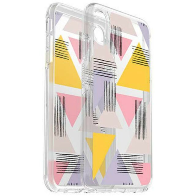 separation shoes 5d407 7a7fd OTTERBOX Symmetry Clear Cover Case iPhone XS Max Graphic Love Triangle PY
