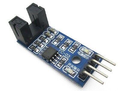 2PCS LM393 Slot Type Optocoupler Motor Speed Detect Sensor Pulse Count Sensor