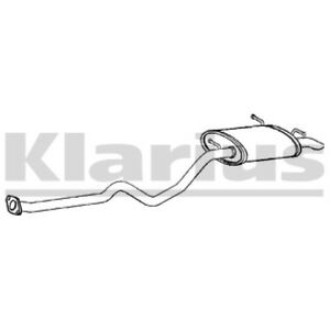 1x KLARIUS OE Quality Replacement Rear End Silencer Exhaust For AUDI Petrol