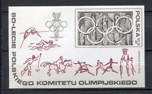 36102-POLONIA-1979-MNH-1980-Olympic-Games-s-s