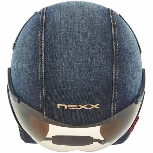 Denim XXL XX-Large Details about  /Nexx SX60 Street Motorcycle Scooter Helmet
