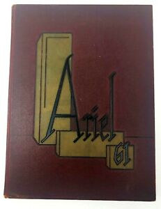 1961-Vintage-Ariel-University-of-Vermont-Year-Book-Very-Good-Condition