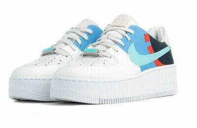 basket nike air force 1 sage
