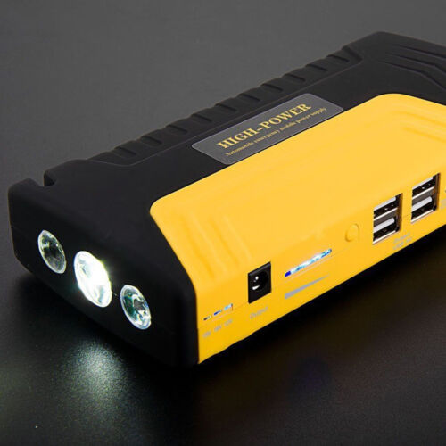 68800mAh 4USB Car Jump Starter Emergency Charger Booster Power Bank Battery SM