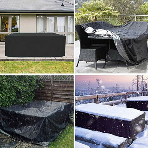 Waterproof Garden Patio Furniture Cover Covers forRattan Table Cube Seat Outdoor