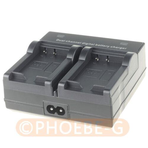 Lp-e17 Dual Batería Cargador Camara Para Canon Eos 750d 760d M3 Batería Lp E17