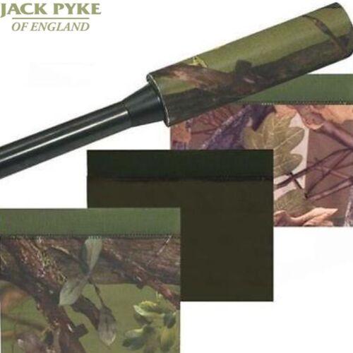 JACK Pyke In Neoprene Regolabile moderatore COPERCHIO Trim per adattarsi RIFLE SHOOTING CACCIA