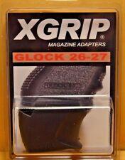 X-Grip Adapter (26-27) Use Glock 17/22 Magazine Adapts in 26/27 pistol 9 mm / 40