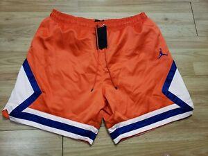 Sin valor Perdóneme Gracioso  Air Jordan Nike para hombre Pantalones cortos de raso diamante azul naranja  AO2820-891 XL Nuevo con etiquetas precio de venta sugerido por el  fabricante $80 | eBay