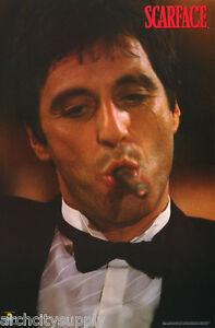 Poster movie repro scarface al pacino cigar free ship 1015 rc42 c ebay - Al pacino scarface pics ...