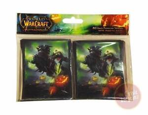 World-of-Warcraft-TCG-Headless-Horseman-Trading-Card-Sleeves-80-pack-wow-NEW