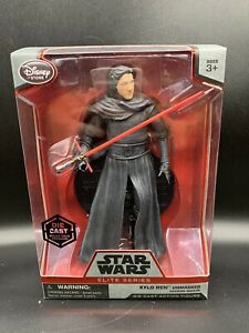 Disney-Store-Star-Wars-Elite-Series-KYLO-REN-UNMASKED-Die-Cast-Figure-New