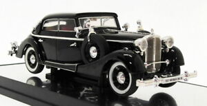 Signature-Models-1-43-Scale-PM43703-1937-Maybach-SW38-4Dr-Black