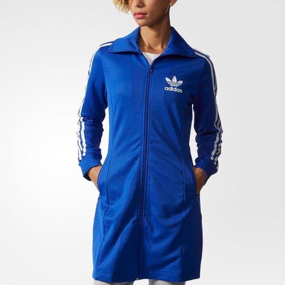 1fc82f215e1e Adidas Originals Originals Originals Europa LS Dress Sz XS NWT S19845  Women's bluee White Rare 3226b7