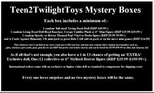Living Dead Doll Et Horreur Merchandise??? Box #5. Veuillez Lire Description!-afficher Le Titre D'origine