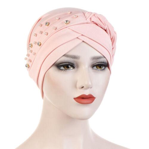 Women Braid Turban Muslim Hijab Bonnet Chemo Cap Head Wear Wrap Scarf Hair Loss