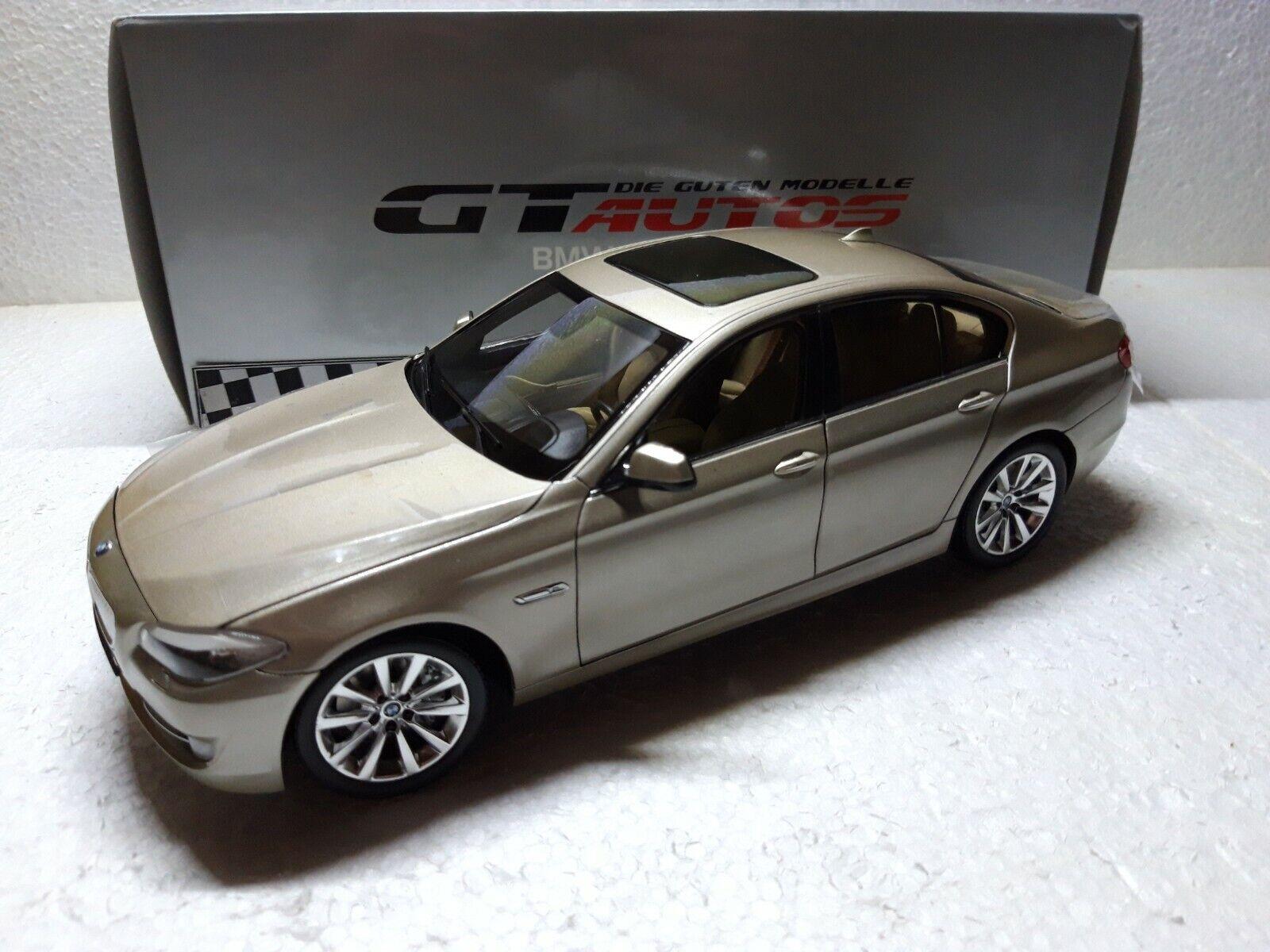 BMW 5er (f10)  NUOVO  Welly GTA  1 18