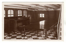 Nelson's Dining Room - HMS Victory - Portsmouth Real Photo Postcard c1930s