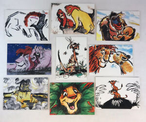THE LION KING SERIES 2 THERMOGRAPHIC CARD T6