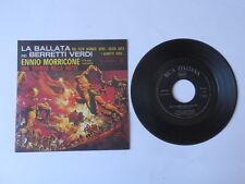 Disco 45 giri LA BALLATA Film BERRETTI VERDI colonna sonora MORRICONE