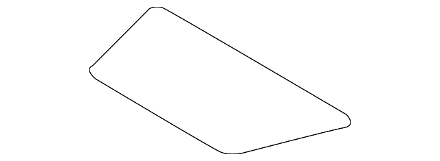 Genuine Nissan Cover-Rear Parcel Shelf 79966-4RA0A