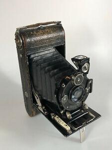 Voigtländer 6x9 Skopar 4.5 / 10,5 cm Laufbodenkamera Klappkamera Rollfilmkamera
