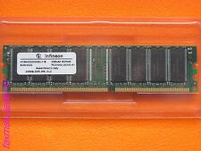 1 x  256 MB  Infineon 184-Pin SDRAM DDR-266 (PC-2100) HYS64D32000GU-7-B CL2.5