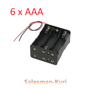 DE-6-fach-Batteriehalter-6x-AAA-Batteriegehaeuse-Reihenschaltung-Batteriefach