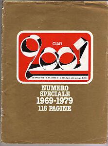 CIAO-2001-Music-Mag-n-17-APR-1979-Speciale-Decennale-69-79-Conservato-Ottimo