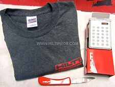 HILTI - CALCULATOR / PHOTO FRAME, HILTI KNIFE, T-SHIRT, FAST SHIPPING
