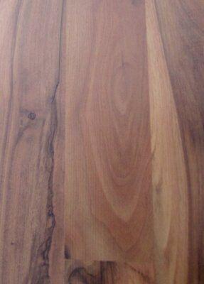 24 m² Nussbaum 2-Stab Klick Laminat Holzboden Holz Fußboden Restposten