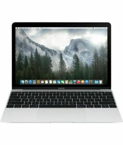 Apple-MacBook-A1534-12-034-Laptop-MF855LL-A-256GB-SSD-2015-Silver-Intel-Core-M
