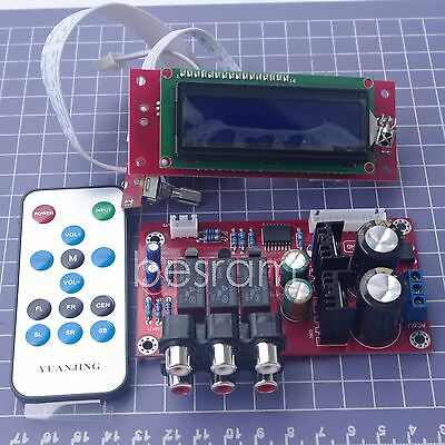 Remote Volume Control Preamplifier Board Kit PGA2311U 3 Input Signal Switching